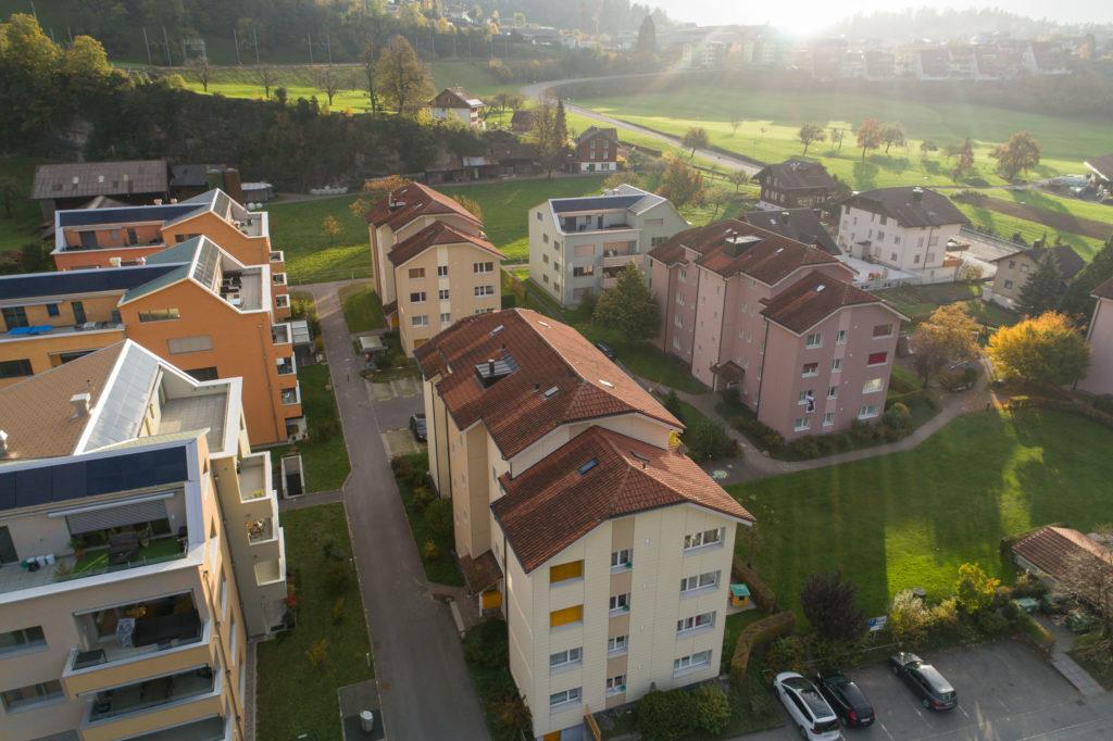 Rischi Oberarth: Drohnenaufnahme