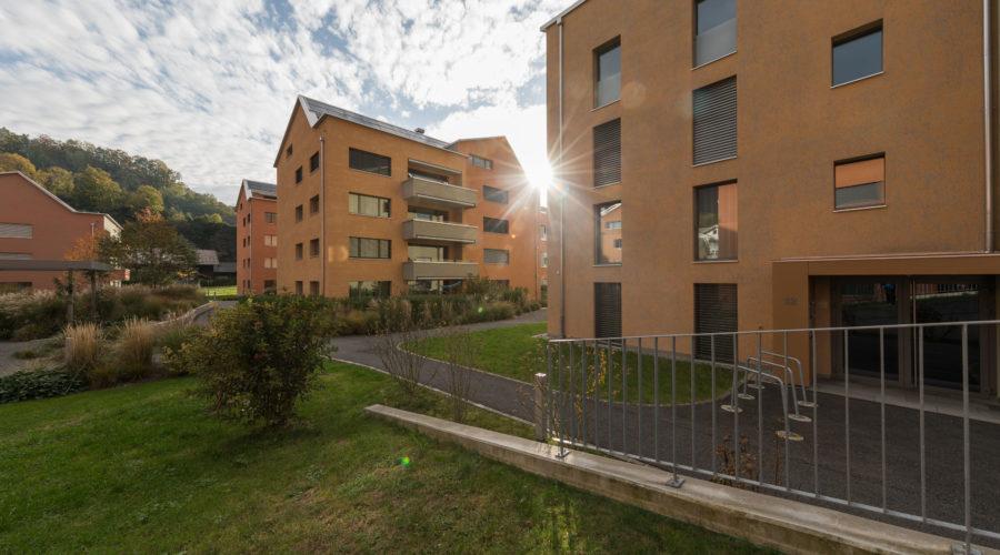 Mietwohnungen Heuledi Oberarth: Aussenbereich