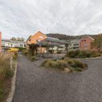Mietwohnungen Heuledi Oberarth: Aussenbereich mit Wegen