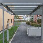 Mietwohnungen Heuledi Oberarth: Überdachter Aussenbereich