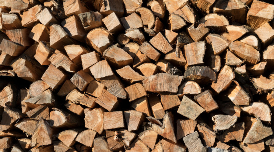 Detailaufnahme Holz
