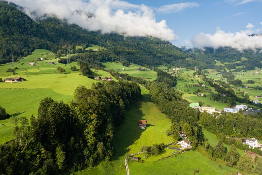 Schuttmattli Land und Wald