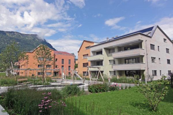 Modern und vielseitig: Wohnsiedlung Heuledi, Oberarth